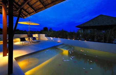 Private pool villa at Yaiya resort